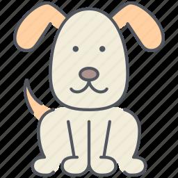 animal, dog, domestic, pet, puppy, rural, village icon