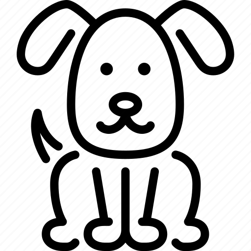 animal, dog, domestic, pet, rural, village icon