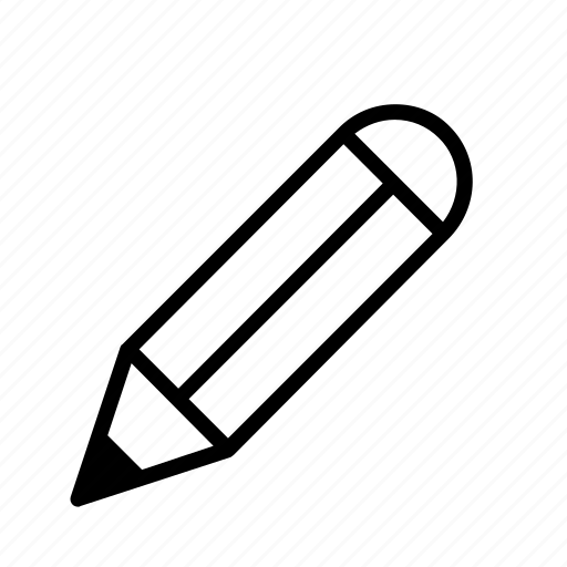 pen, pencil, supply icon