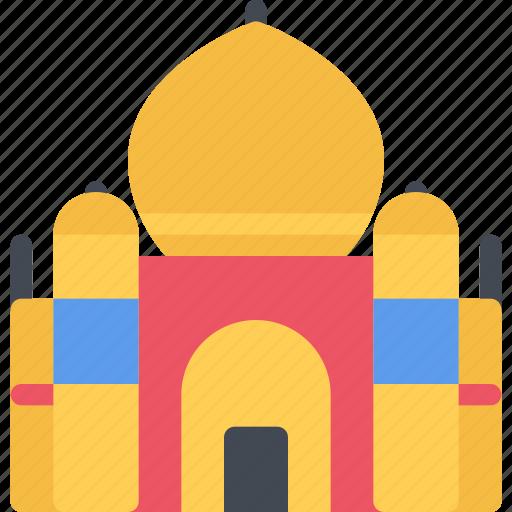 Taj, mahal, india, indian, hindu, diwali, avatar icon - Download on Iconfinder