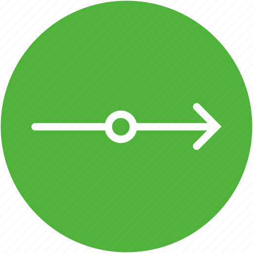 arrow, direction, forward, pointing, time icon