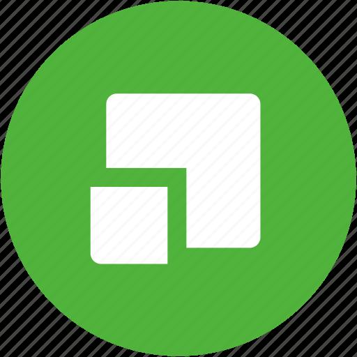 chunk fragment part piece sample section segment icon