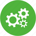 function, gears, machinery, methods, processes icon