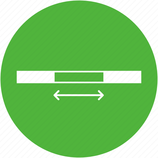 breadth, length, range, stretch, width icon