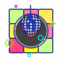 ball, disco, discotheque, party icon