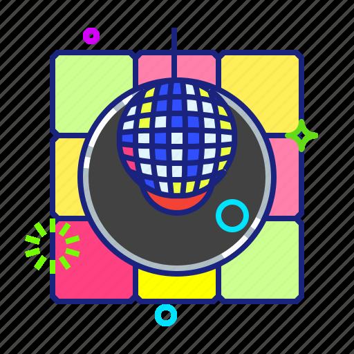 ball, disco, discotheque, party icon