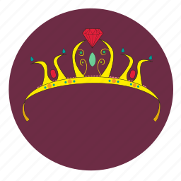 corona, couronne, crown, girly, gold, krone, ring icon