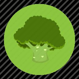 brocoli, food, fruit, vegetable icon