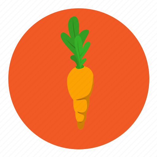 carrots, food, fruit, vegetable icon