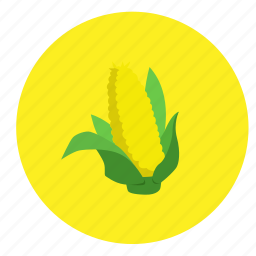 corn, food, fruit, vegetable icon