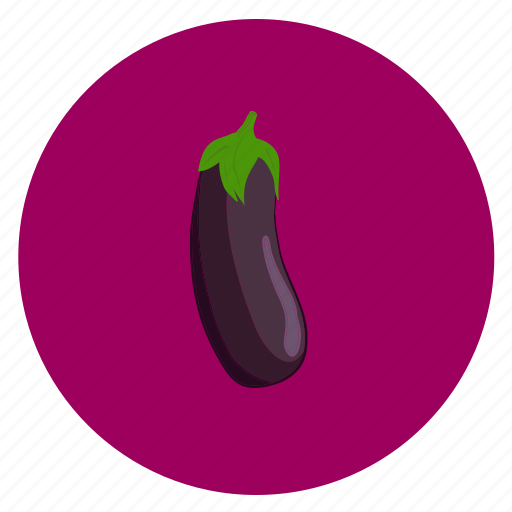 eggplant, food, fruit, vegetable icon