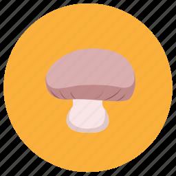 food, fruit, mushroom, vegetable icon