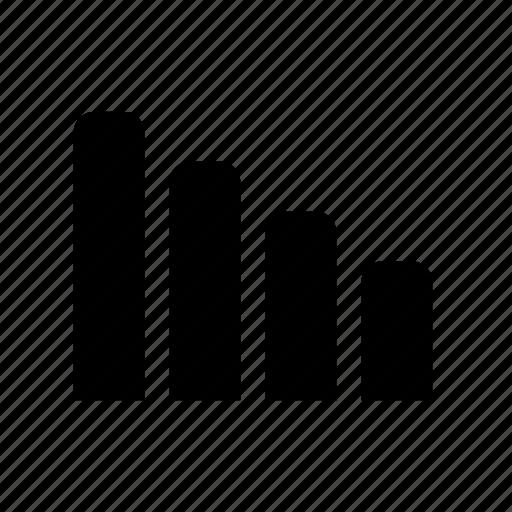 analytics, bar chart, chart, diagram icon