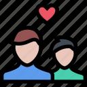 couple, friend, heart, like, love, romance, valentines