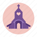 building, christ, christian, church, marriage, wedding icon