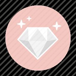 diamond, diamonds, gem, jewel, jewelry, present, rich icon