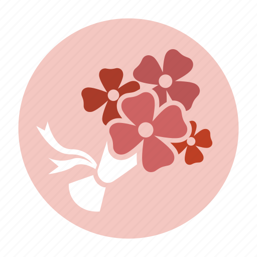 bouquet, flower, flowers, marriage, valentine, valentine's day, wedding icon