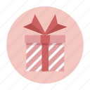 box, christmas, decoration, gift, inventory, package, present icon