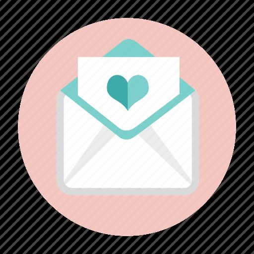 invitation, invitation card, letter, love letter, mail, post, wedding card icon