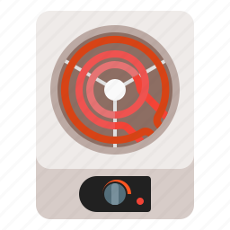 cook, electric, electricity, range, stove icon