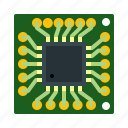 chip, cpu, hardware, microchip, processor, technology icon