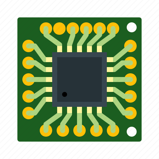 chip, hardware, microchip, processor icon