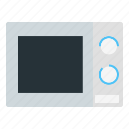electronic, kitchen, meal, microwave, oven icon