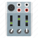 control, mixer, multimedia, options icon