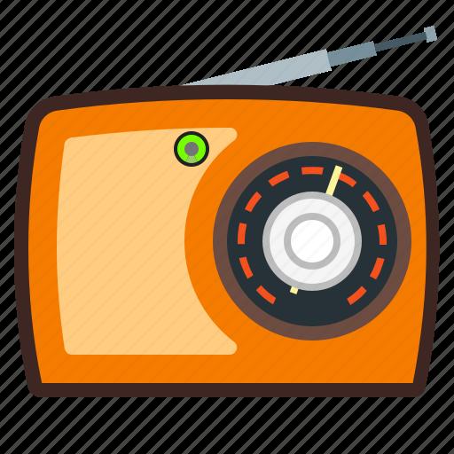 antenna, audio, music, radio icon