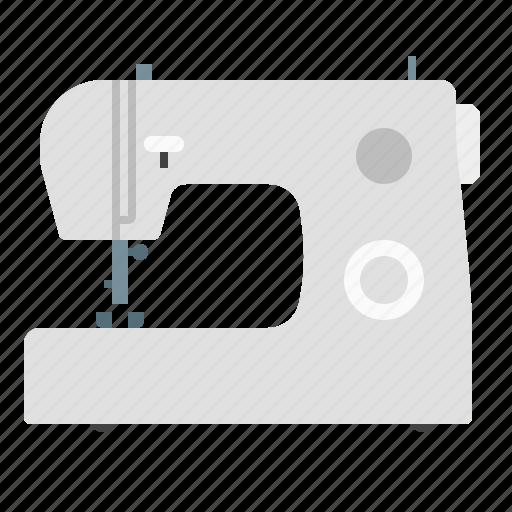 machine, needlework, sewing, stitching icon