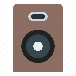 audio, media, music, speakers icon