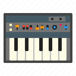 instrument, midi, music, synthesizer icon