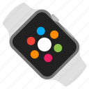 apple, device, mobile, watch icon