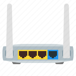 antenna, modem, router, wifi, wireless icon