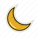 bedtime, dream, moon, moonlight, night, sleep icon