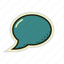 bubble, chat, dialog, message, quote, speech icon