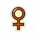 female, gender, girl, sex, venus, woman icon
