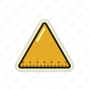 polygon, pyramid, triangle icon