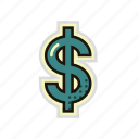 american, currency, dollar, money, usa, usd icon