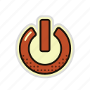energy, off, on, power, start, switch icon