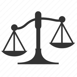 balance, justice, law, measure, scale, unbalance, weight icon