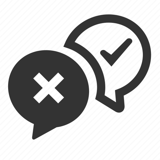 bubble, chat, comments, communication, debate, speech, talk icon