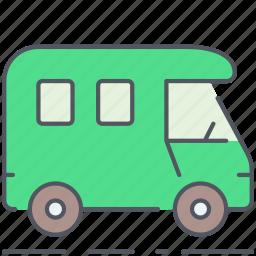 camping, caravan, expedition, outdoor, survival, trailer, wagon icon