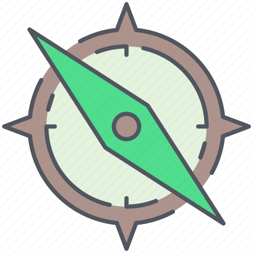 camping, compass, journey, navigation, orientation, outdoor, survival icon