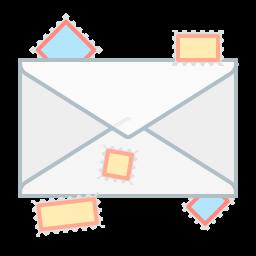 communication, envelope, mail, message, send icon