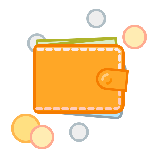 cash, coin, money, pay, wallet icon