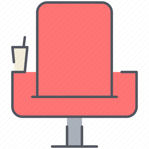 chair, cinema, entertainment, film, movies, night icon