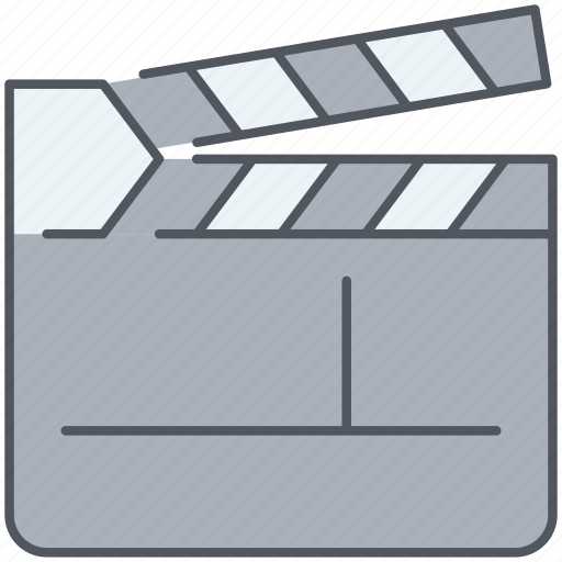 action, cinema, clapboard, director, film, filming, movies icon