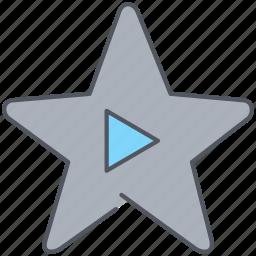 achievement, actor, cinema, film, movie, movies, star icon