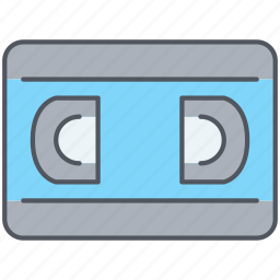 casette, cinema, film, movies, multimedia, play, video icon